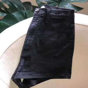 Super high waisted cheeky Vibrant Miu Sz L shorts